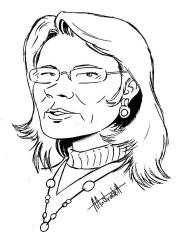 Caricatura -Celia